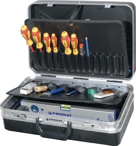 Werkzeugsortiment 46 tlg. f. Elektriker