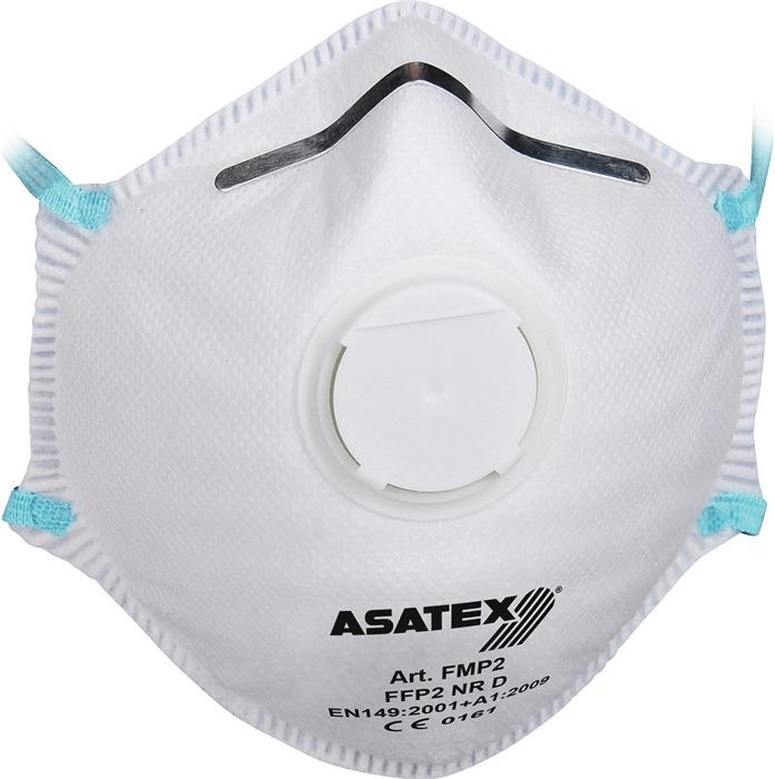 Atemschutzmaske EN 149:2001 + A1:2009 FFP 2 NR D - 15 Stk / 15 ST
