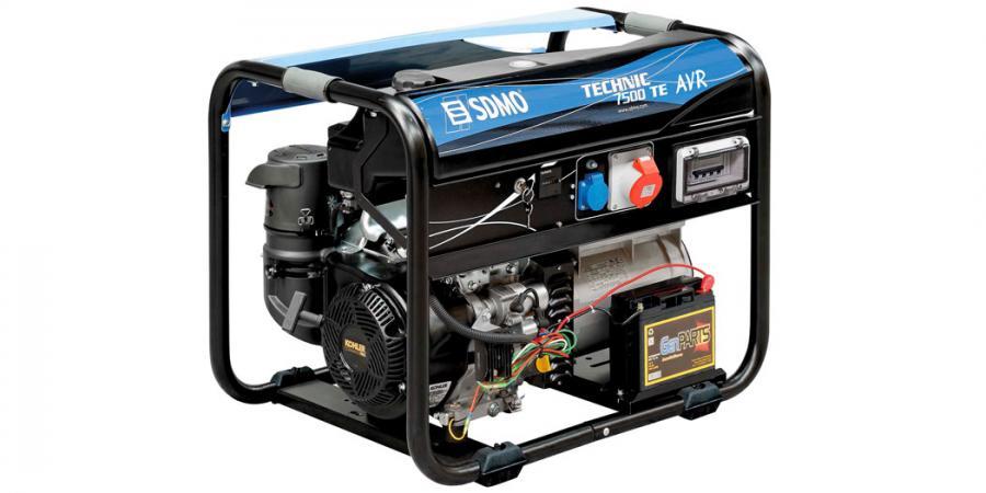 SDMO Stromerzeuger Technic 7500 TE