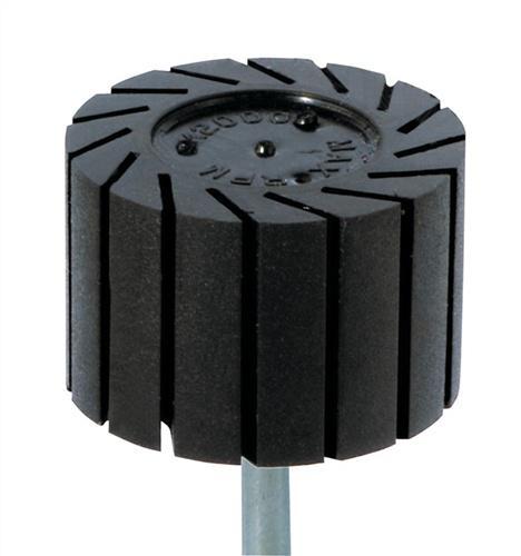 Gummiträger D.45xB.30mm m.6mm Schaft