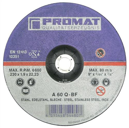 Trennscheibe f.VA/Blech D.115x1mm S.1mm - 25 ST
