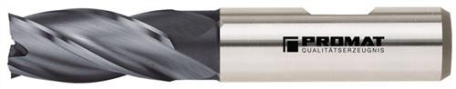 Schaftfräser DIN844 Typ N D.20mm HSS-Co8