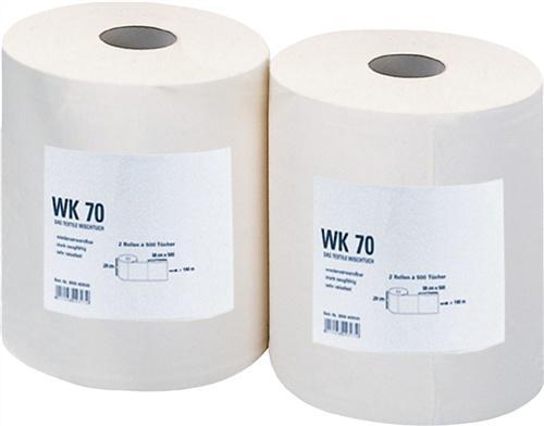Putztuch WK70 weiß reißfest