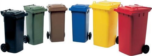 Müllgroßbehälter 120l blau