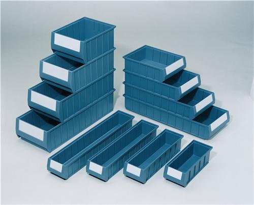 Regalkasten PP blau L500xB234xH90mm - 8 ST