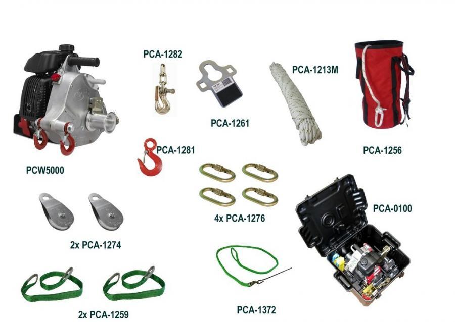 Portable Winch JAGD SORTIMENT