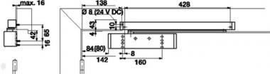 Syphon-u.Connectorenzange  L.250mm f.D.10-75mm verchromt