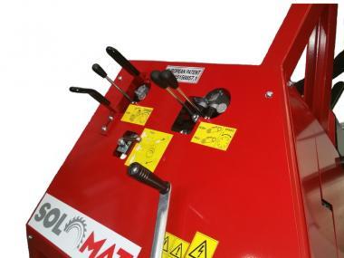 Solomat SIT 700 E5H - mit 5m Förderband - 1 Stk  Antrieb über Elektromotor 380V, hydraulische Wippe
