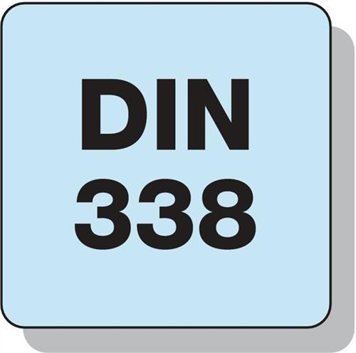 10x PROMAT Spiralbohrer DIN1897 Typ N D.3,1mm HSS-Co