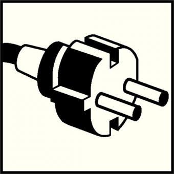 Kabeltrommelleer f. bis zu 50m Kabel4xSchuko  Steckdosenaus Stahlblech
