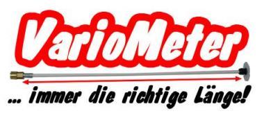 VarioMeter Ablänghilfe für Motorsägen - 1 Stk  10-105cm; Fieberglas-Stab
