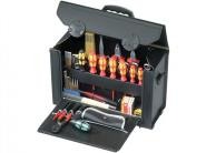 WerkzeugtascheB.415xT.165xH.275mmaus Rindleder