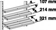 Lamellenboden B1000xT107xH30mm
