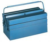 Werkzeugkasten blau 530x200x250mm Tragegriff