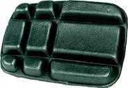 Basic Knieschoner 20 x 15 xm schwarz