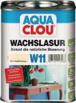 W11 AQUA CLOU Wachslasur 750ml  Nr. 5 weiß