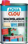 W11 AQUA CLOU Wachslasur 250ml  Nr. 5 weiß