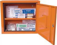 Verbandschrank orange SÖHNGEN 490x420x200mm