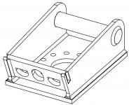 Sit-Right Adapter für MS03 Schnellwechselsystem