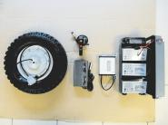 Nachrüstsatz Elektroschubkarre