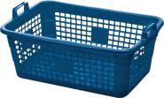 Tragekorb PE blau 45l 620x425x250mm